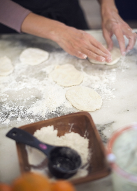 flatbread prep