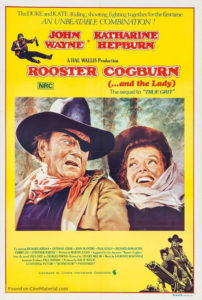 Movie poster for Rooster Cogburn