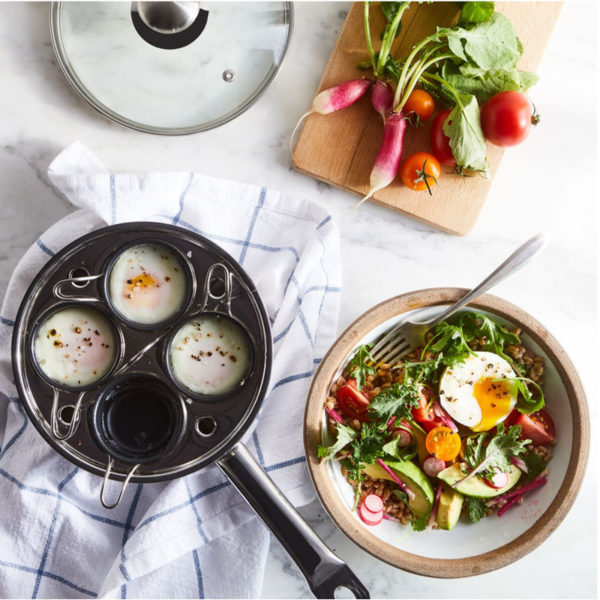 Stainless Steel Egg Poacher from Food52