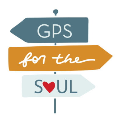 GPS for the Soul Way-Finding Sign Illustration